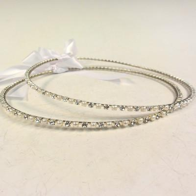 Orthodox Wedding Crowns (Stefana) – Natasha (Silver)