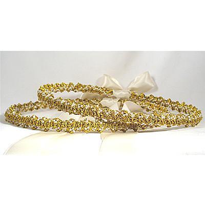 Orthodox Wedding Crowns (Stefana)- St. Julia (Gold)