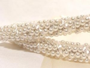 Orthodox Wedding Crowns (Stefana) – St. Marina Pearl White