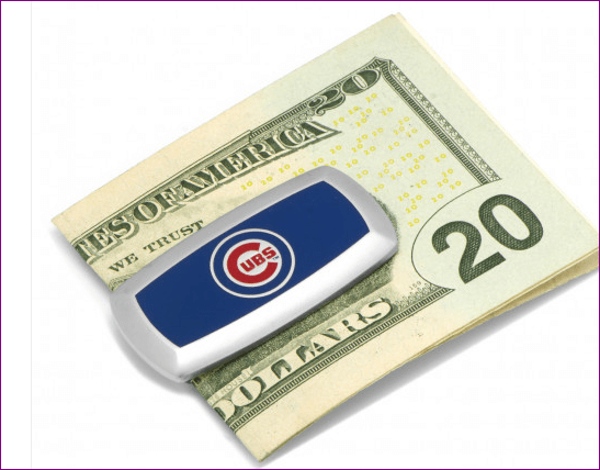 Chicago Cubs Cushion Money Clip