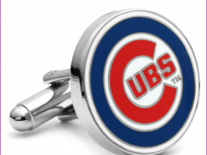 Chicago CUBS Round Cufflinks