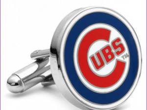 Chicago CUBS Round Cufflinks
