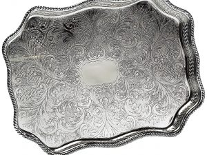 Serpentine Gallery Stefana Tray (Silver Plated)