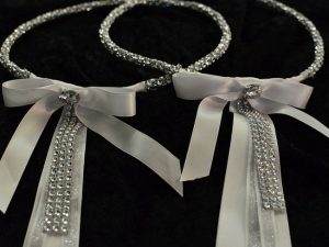 Silver Rhinestone Crystal Elements Stefana