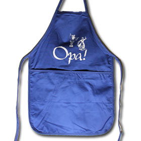 Opa' Full Size Apron with 2 Pockets