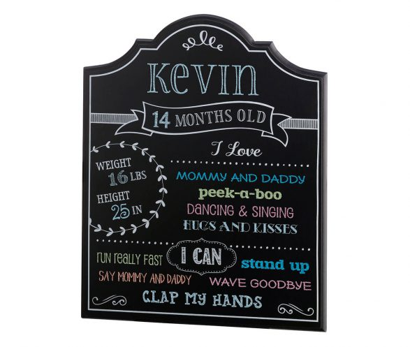 Baby Monthly Chalkboard Sign