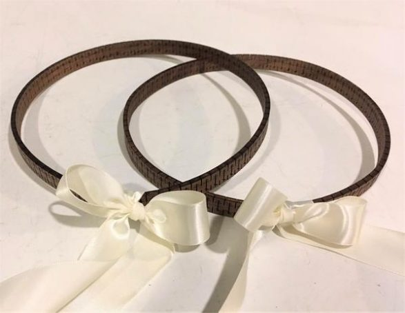 St. Anna – Handcrafted Mahogany Stefana – Wedding Crowns