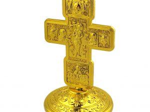 Greek Style Metal Desk Cross