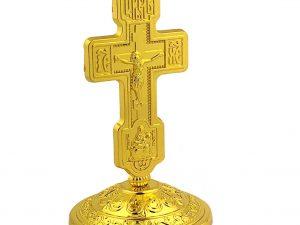 Metal Standing Crucifix Cross