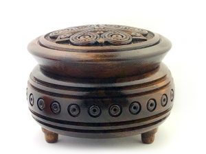 Decorative Hand Carved Wooden Box